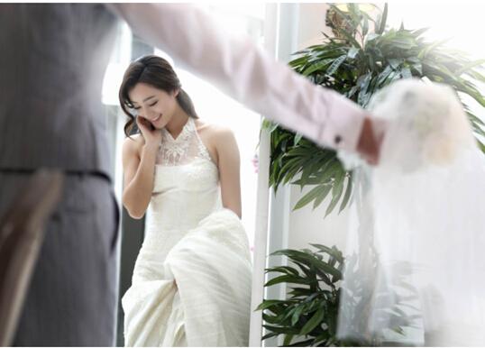 2016韩式创意婚纱照 简约浪漫风