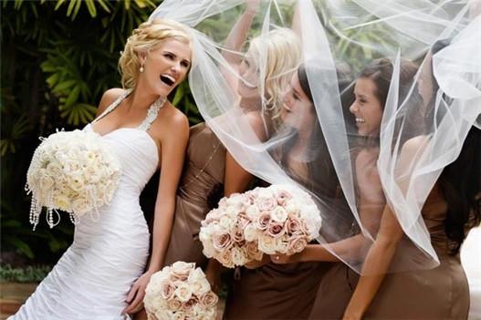 闺蜜婚纱照图片唯美 欧美闺蜜婚纱照