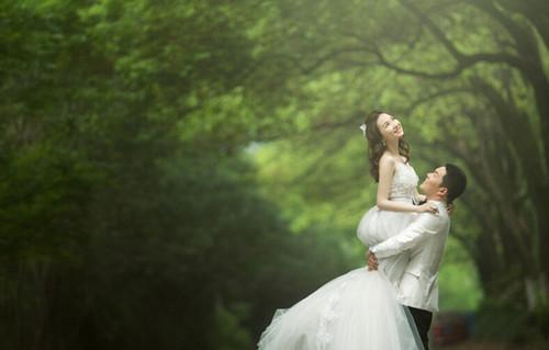 最新流行的八种婚纱照风格盘点