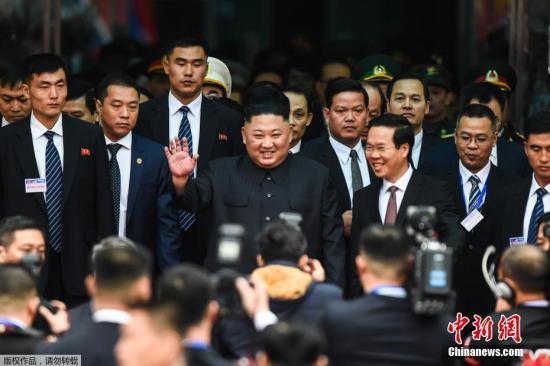 資料圖:朝鮮最高領導人金正恩。