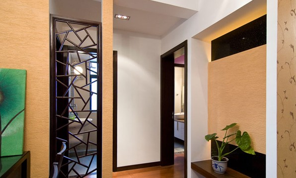 中式装修与家居颜色的搭配