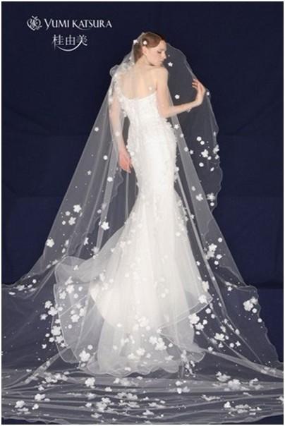 桂由美婚纱 塑造唯美新娘