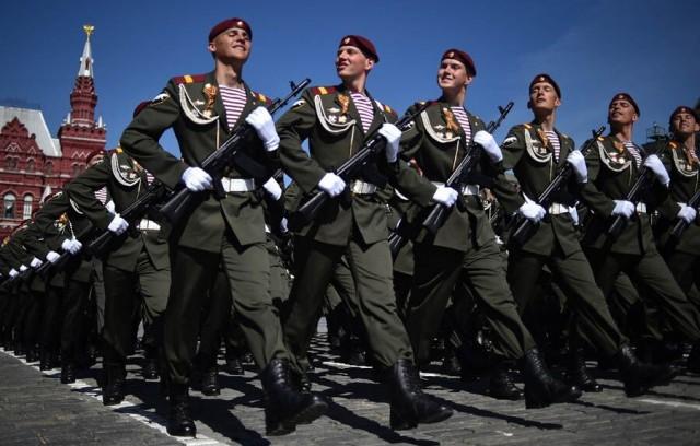 莫斯科红场阅兵总彩排