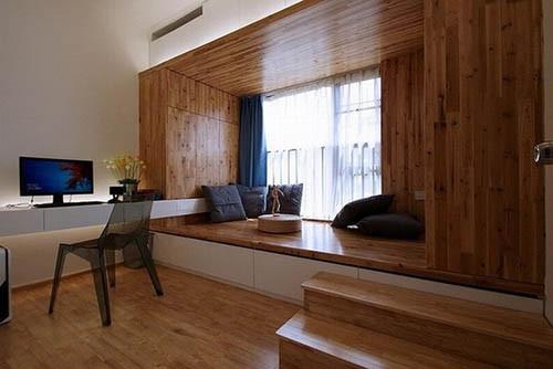 榻榻米设计 改善小房间尴尬处境