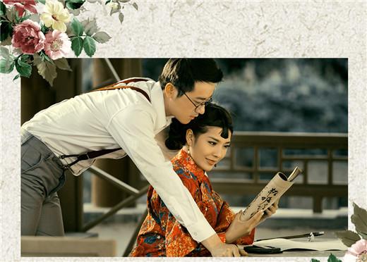 首页 生活 婚庆 幻灯片  这套婚纱照的时代背景设置在了民国时代,男